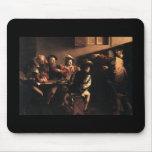 Caravaggio la llamada de St Matthew Tapetes De Raton