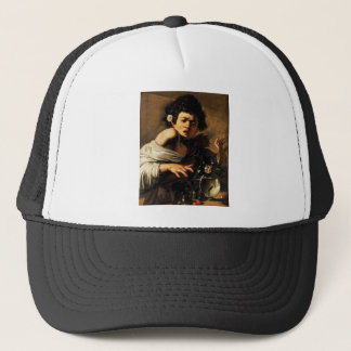 Caravaggio Lizard Boy Trucker Hat