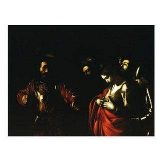 Caravaggio- Martyrdom of Saint Ursula Post Card