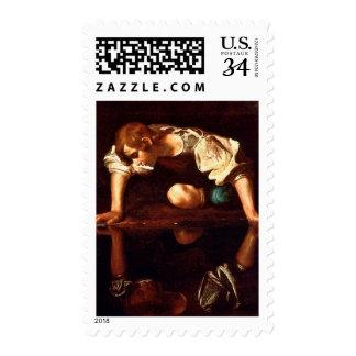 CARAVAGGIO - Narcissus 1498 Postage