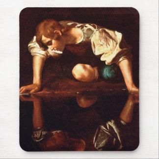 CARAVAGGIO - Narcissus 1598 Mouse Pad