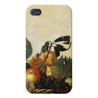 Caravaggio s Basket of Fruit iPhone 4 Covers