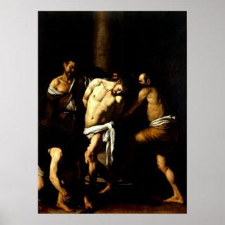 Caravaggio s Flagellation of Christ Poster