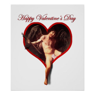 Caravaggio s Valentine Cupid Print
