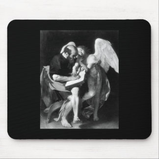 Caravaggio St Matthew And The Angel Mouse Pad