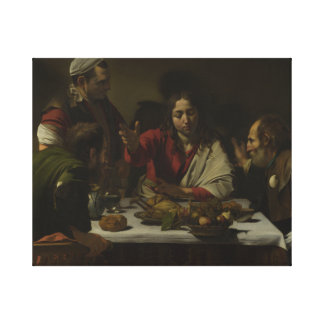 Caravaggio - Supper at Emmaus Canvas Print