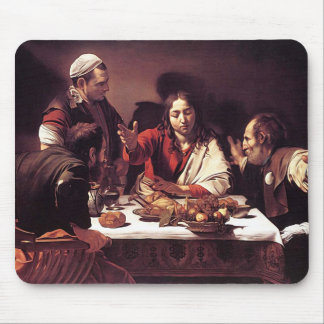 Caravaggio - Supper at Emmaus Mouse Pad