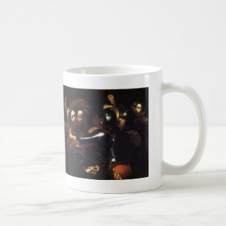Caravaggio- Taking of Christ Coffee Mug
