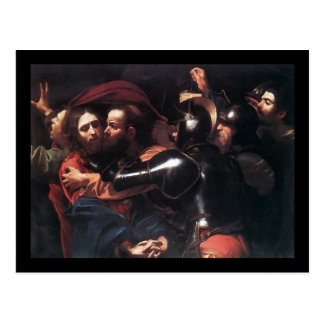 Caravaggio Taking Of Christ Post Cards