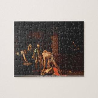Caravaggio - The beheading of John the Baptist Jigsaw Puzzle