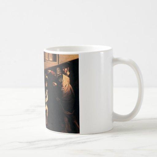 Caravaggio The Calling Of Saint Matthew Coffee Mug