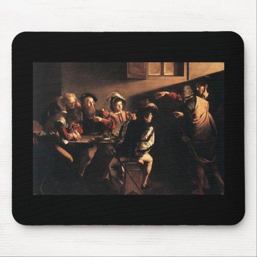 Caravaggio The Calling Of Saint Matthew Mousepad