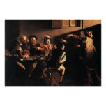 Caravaggio The Calling Of Saint Matthew Poster