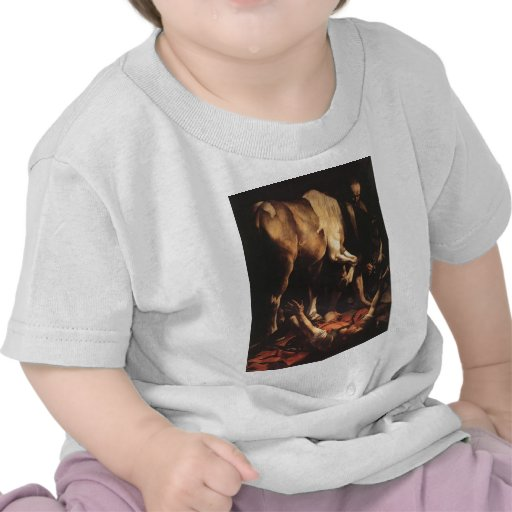Caravaggio The Conversion To Damascus T-shirts