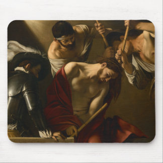 Caravaggio - The Crowning with Thorns Mouse Pad