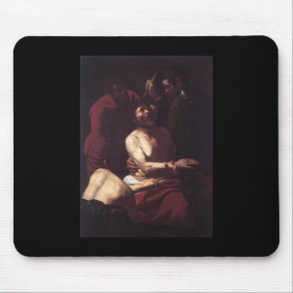 Caravaggio The Crowning With Thorns Mouse Pad