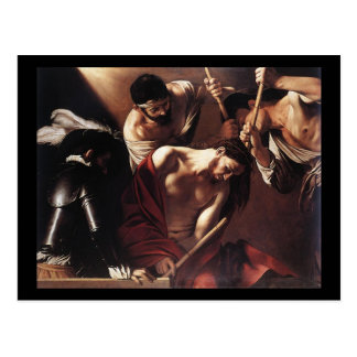 Caravaggio The Crowning With Thorns Postcard