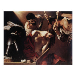 Caravaggio The Crowning With Thorns Posters
