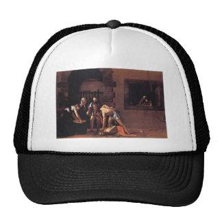 Caravaggio The Decapitation Of Saint John Mesh Hats