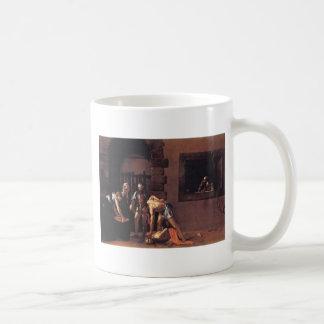 Caravaggio The Decapitation Of Saint John Classic White Coffee Mug