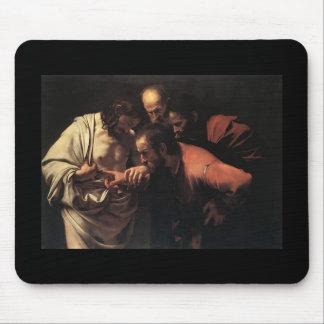 Caravaggio The Incredulity Of Saint Thomas Mouse Pad