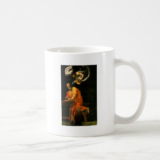 Caravaggio The Inspiration Of Saint Matthew Coffee Mug