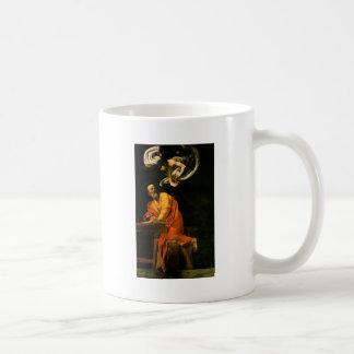 Caravaggio The Inspiration Of Saint Matthew Coffee Mug