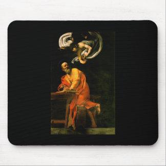 Caravaggio The Inspiration Of Saint Matthew Mouse Pad