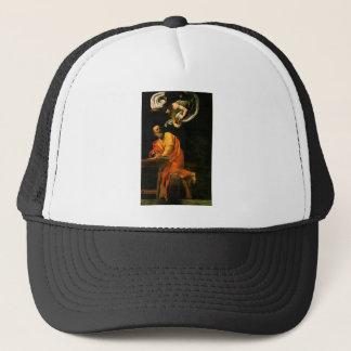 Caravaggio The Inspiration Of Saint Matthew Trucker Hat