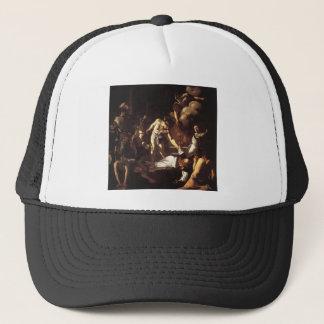 Caravaggio The Martyrdom Of St Matthew Trucker Hat