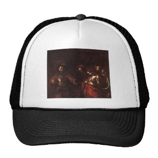 Caravaggio The Martyrdom Of St Ursula Trucker Hat