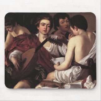 Caravaggio: The Musicians Mouse Pad