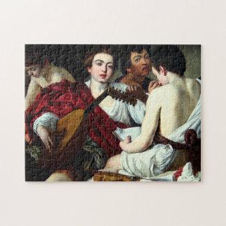 Caravaggio The Musicians Puzzle