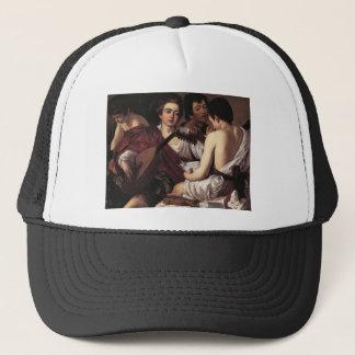 Caravaggio The Musicians Trucker Hat