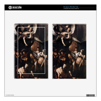Caravaggio - The seven Works of Mercy Painting Decals For Kindle Fire