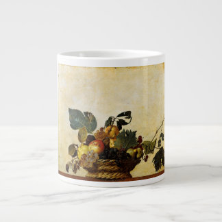Caravaggio's Basket of Fruit Large Coffee Mug