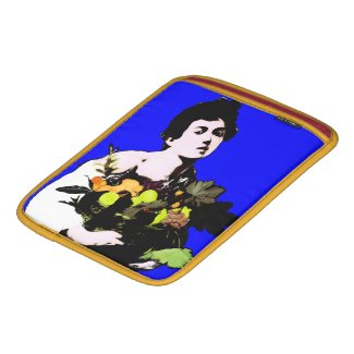 Caravaggio's Boy with Fruit Basket - Pop Art Style Sleeve For iPads