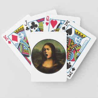 Caravaggio's Mona Medusa Bicycle Playing Cards
