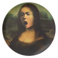 Caravaggio's Mona Medusa Dinner Plate