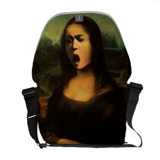 Caravaggio's Mona Medusa Messenger Bag