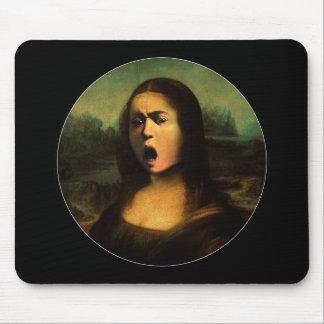 Caravaggio's Mona Medusa Mouse Pad