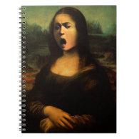 Caravaggio's Mona Medusa Spiral Notebooks