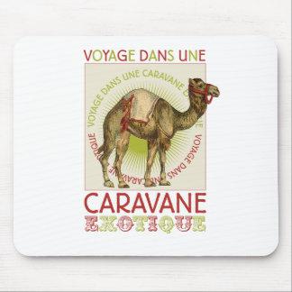 Caravan Camel Mouse Pad