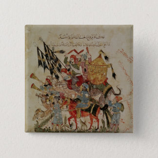 Caravan going to Mecca Pinback Button