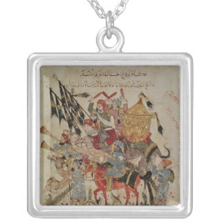 Caravan going to Mecca Silver Plated Necklace