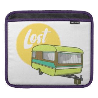 Caravan Lost Retro Seventies Style Sleeve For iPads