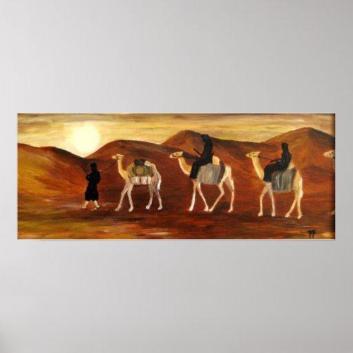 Caravana del Tuareg - poster