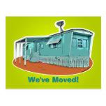 """Caravana """"hemos movido"""" la postal"""