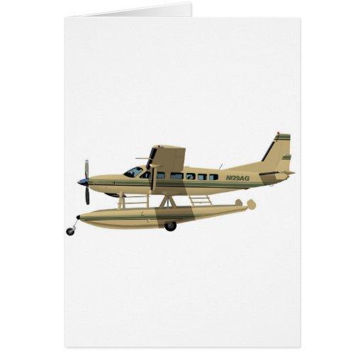 Caravana II de Cessna 208 Tarjeta De Felicitación