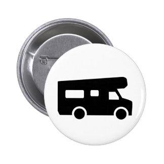 Caravana - Motorhome Pin Redondo De 2 Pulgadas